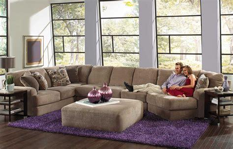 jackson sectional sofa jackson malibu large chaise sectional with ottoman set b