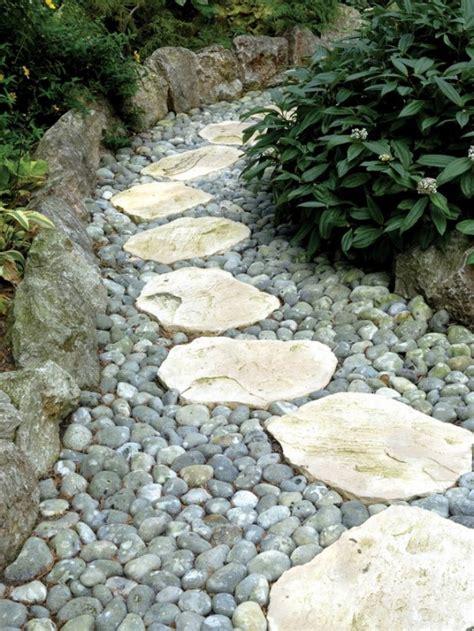 Stone Kitchen Backsplashes 43 awesome garden stone paths digsdigs