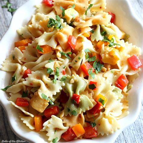 pasta salad recipe easy pasta salad recipe of the kitchen
