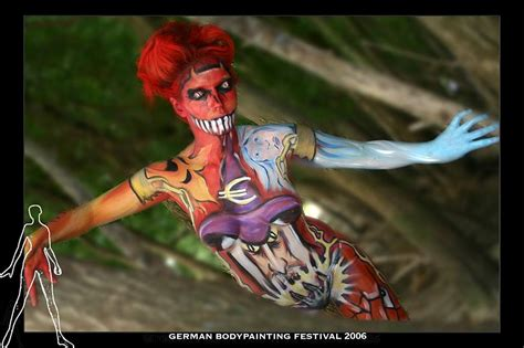 german painting festival german bodypainting festival 2 by stsch on deviantart