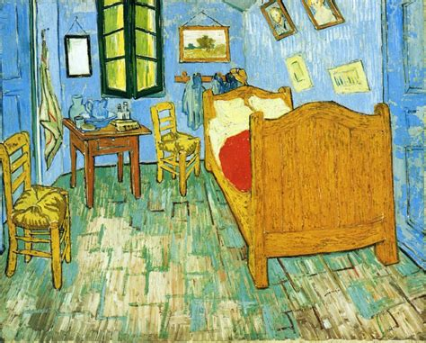 the bedroom gogh vincent s bedroom in arles vincent gogh wikiart