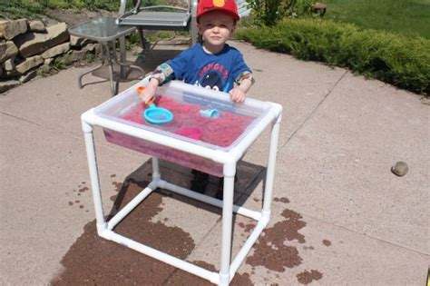 water sensory table 25 things to make with pvc pipe