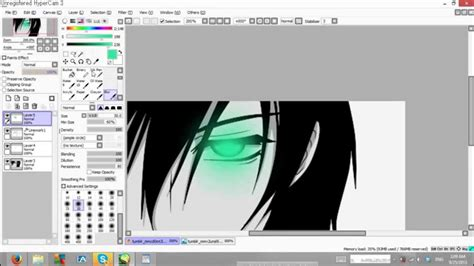 paint tool sai glow effect tutorial glowing effect tutorial paint tool sai