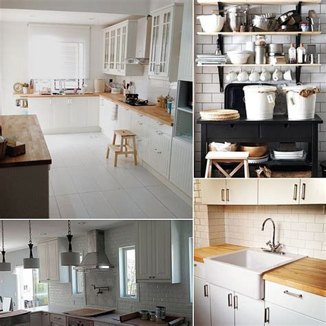 ikea kitchens ideas ikea kitchen renovation ideas popsugar home