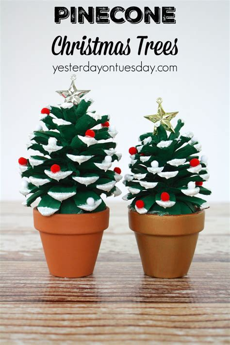pine cone crafts to sell 9 easy pinecone projects yesterday on tuesday