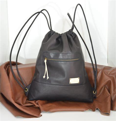 mochila de cuero negro mochila cuero negro mochila piel negra mochila saco cuero