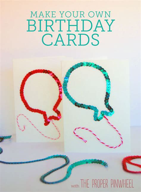 How To Make Birthday Cards Diy Birthday Cards You Ll