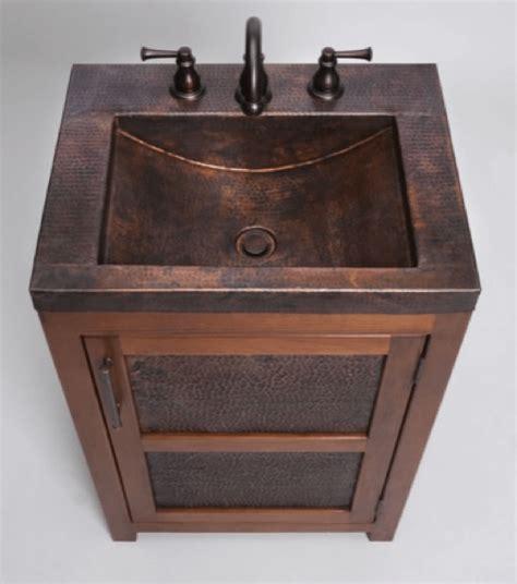 copper bathroom vanity bathroom vanity with copper sink thompson traders vts