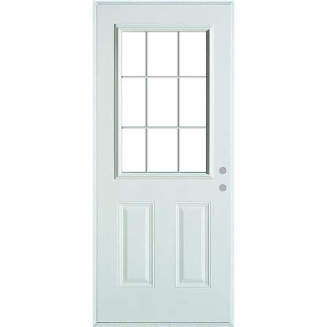 stanley glass doors stanley doors 33 375 in x 82 375 in colonial 9 lite 2