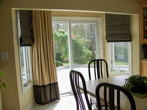 window treatments for patio sliding doors patio door window treatment for your gorgeous home decohoms