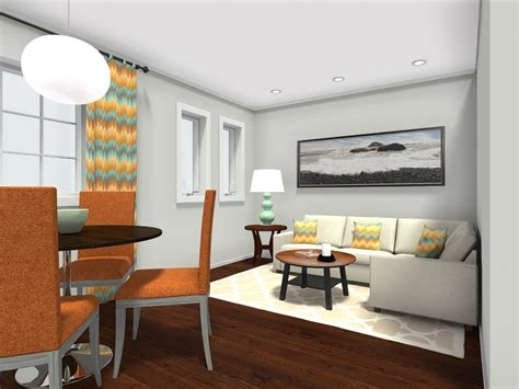 small living room with dining table 8 expert tips for small living room layouts roomsketcher