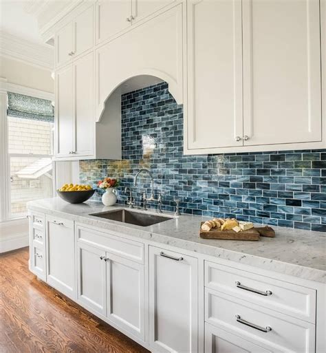 blue kitchen tile backsplash 25 best ideas about blue backsplash on blue
