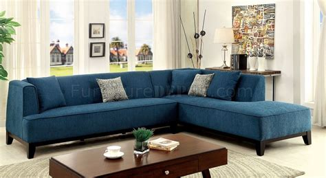 teal sectional sofa sofia ii cm6861tl sectional sofa in teal fabric