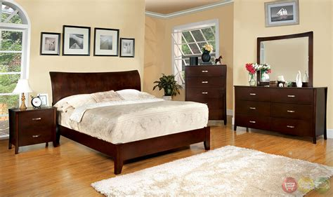 brown bedroom furniture sets midland contemporary brown cherry bedroom set with wooden