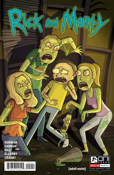 rick and morty volume 6 rick and morty 2 the wubba lubba dub dub of wall