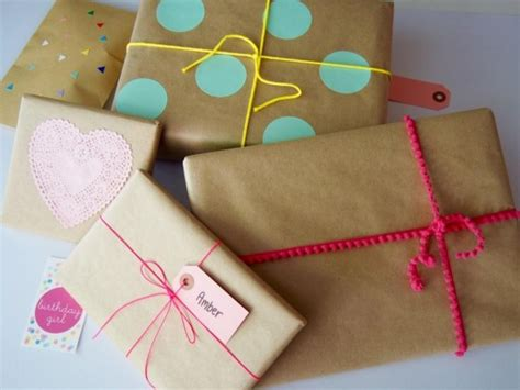six creative ways to your own gift wrap
