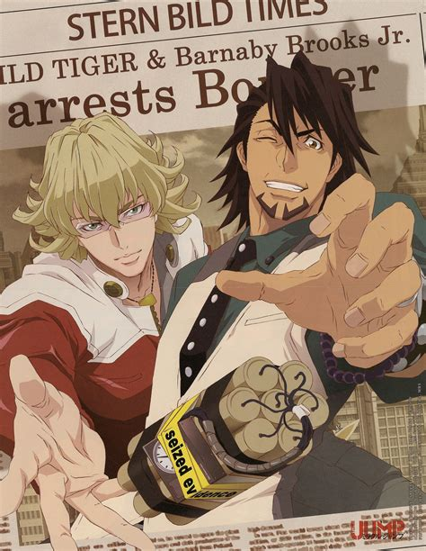 tiger and bunny tiger and bunny anime guys photo 25127137 fanpop