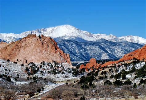 Garden Of The Gods Winter Panoramio Photo Of Garden Of The Gods Colorado Springs
