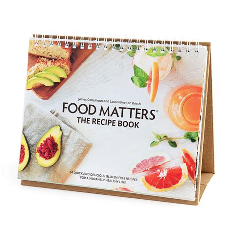 pictures of recipe books food matters recipe book printed edition