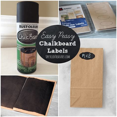 chalkboard paint labels diy diy chalkboard labels mountainmodernlife