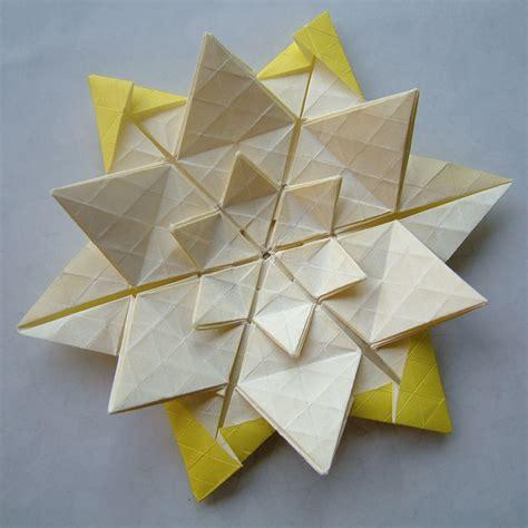 origami tesselations twist 2 1 origami tessellations