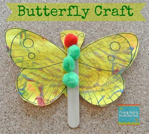 craft activity for butterfly craft a great activity for the hungry