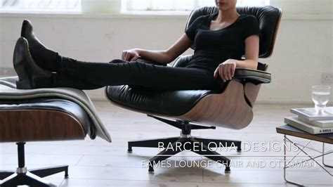 Vitra Eames Lounge Chair Replica by Eames Lounge Chair Replica Barcelona Designs
