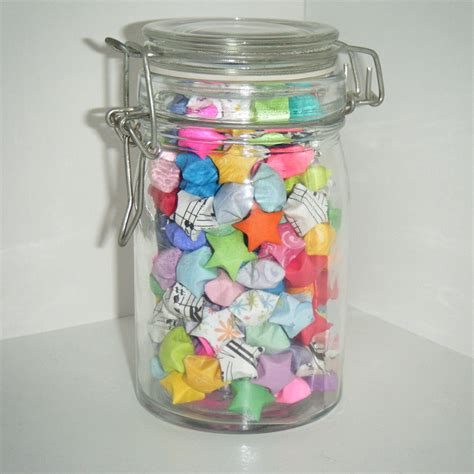 jar of origami jumbled jar of lucky by celticknot003 on deviantart