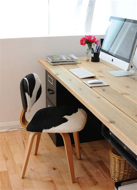 home built computer desk 20 diy desks that really work for your home office