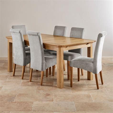 oak dining table set edinburgh extending dining set in oak dining table 6 chairs