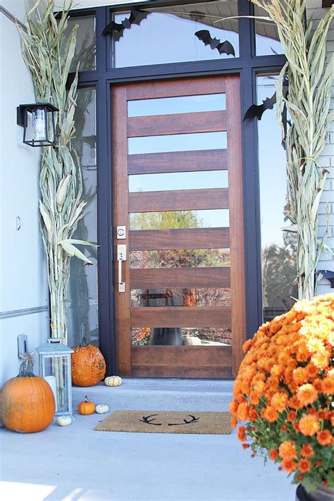 exterior front doors wood best 25 modern exterior doors ideas on modern