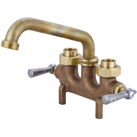 Buying A Kitchen Faucet central brass cast brass laundry faucet 0465 the home depot