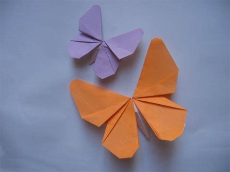 easy origami butterfly for best 20 origami butterfly ideas on easy