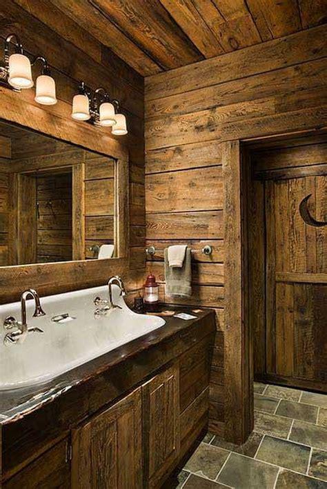 Rustic Themed Bathroom by 25 Rustic Bathroom Decor Ideas For World