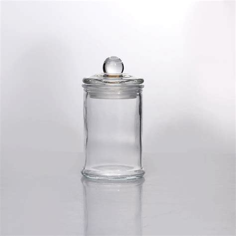 wholesale glass wholesale glass food storage jar with lid food storage jar