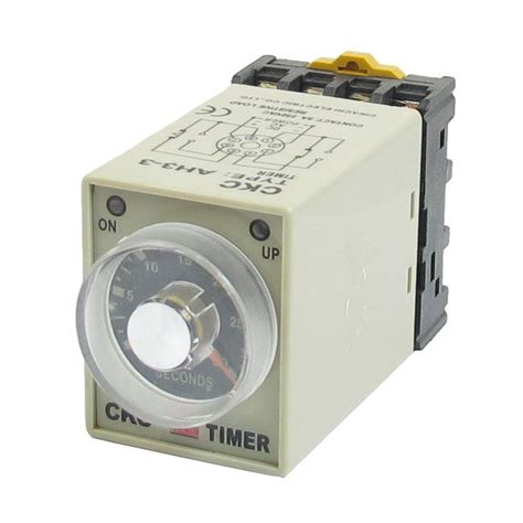 electric timer dc 12v 0 30 seconds 30s electric delay timer timing relay l6