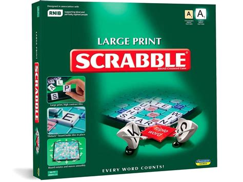 scrabble large print scrabble large print with turntable 5060058550419