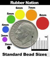 10mm bead actual size bead size chart bead sizing guide ebay