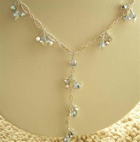 how to make swarovski jewelry bridal handcrafted jewelry swarovski necklace