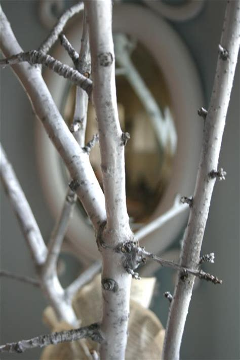 spray painting tree branches gratitude tree hopeful homemaker