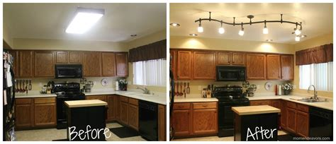 kitchen lighting remodel mini kitchen remodel new lighting makes a world of
