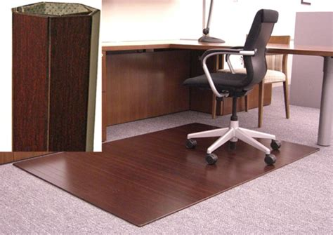 Bamboo Desk Chair Mat by Bamboo Chair Mat For Carpet Carpet Vidalondon