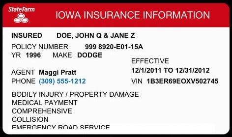 State Farm Id Card Insurance Regulation Florida Braces