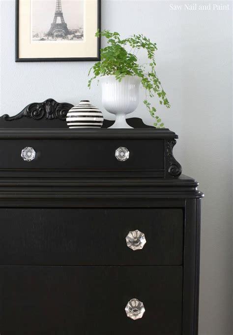 painting bedroom furniture black best 25 vintage dressers ideas on diy