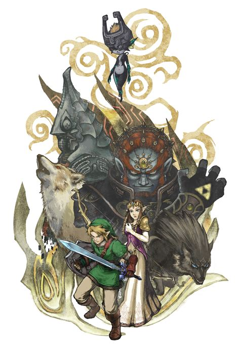 twilight princess fresque twilight princess hyrule historia