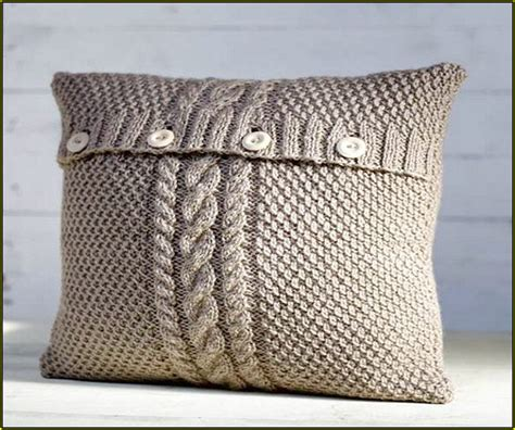 knitted pillow cover pattern free cable knit pillow cover pattern home design ideas