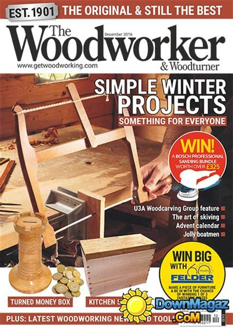 the woodworker woodturner magazine the woodworker woodturner 12 2016 187 pdf