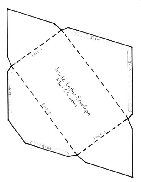 how to make a envelope for a card best 25 envelope templates ideas only on