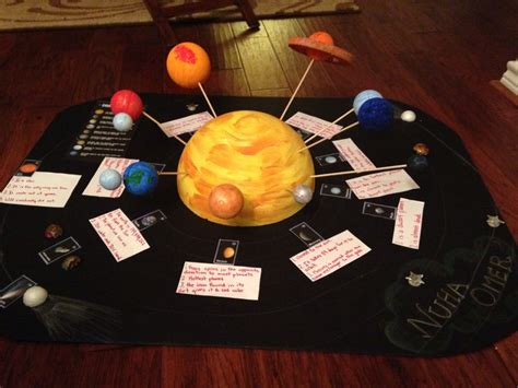 craft ideas for solar system solar system project solar
