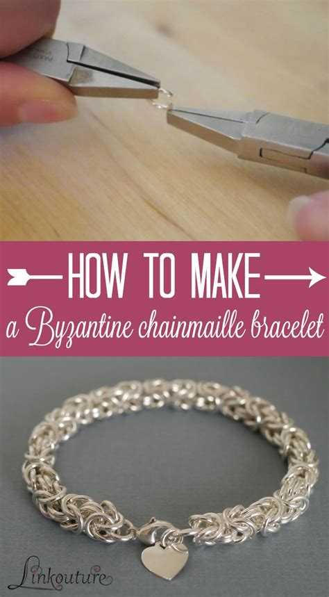how to make your own jewelry byzantine chainmaille diy jewelry tutorial